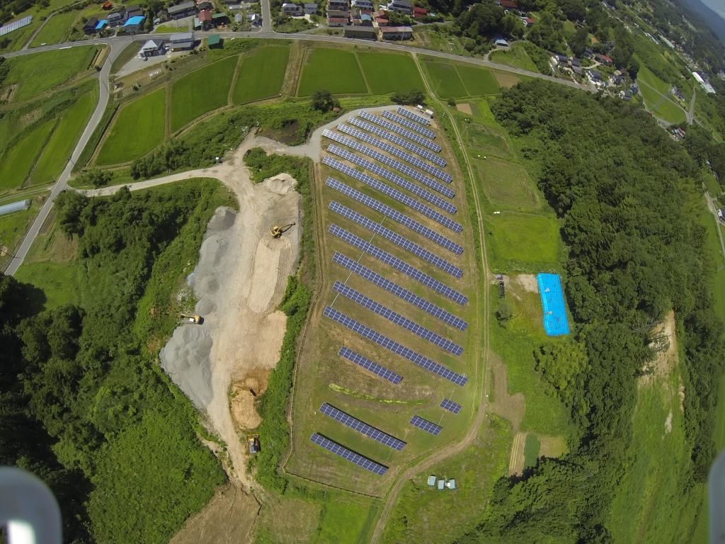 福島県二本松市小澤太陽光発電所(写真提供::佐々木健洋さん)